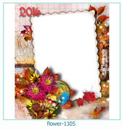 flower photo frame 1305