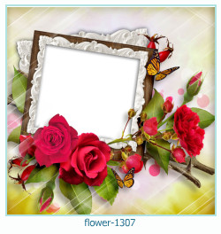 flower photo frame 1307