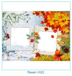 flower Photo frame 1422