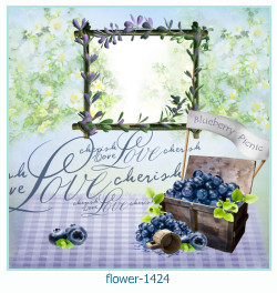flower Photo frame 1424