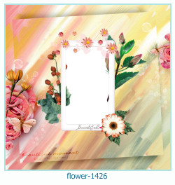 flower Photo frame 1426
