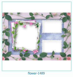 flower Photo frame 1489