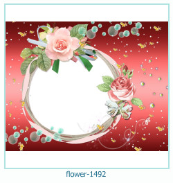 flower Photo frame 1492