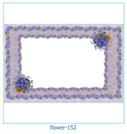 flower Photo frame 152