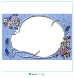 flower Photo frame 158