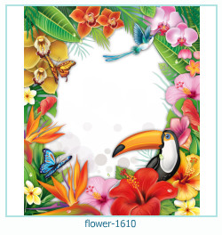 flower Photo frame 1610