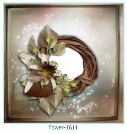flower Photo frame 1611