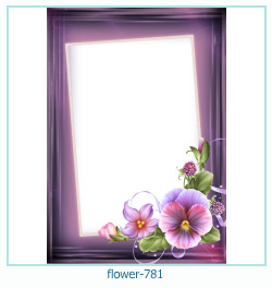 flower Photo frame 781