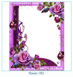 flower Photo frame 782