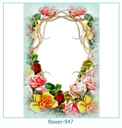 flower photo frame 947