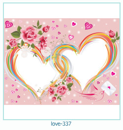 love Photo frame 337