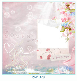 love Photo frame 370