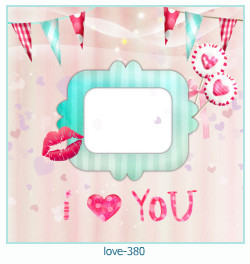 love Photo frame 380